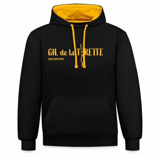 GIL de la Tirette - Contrast hoodie