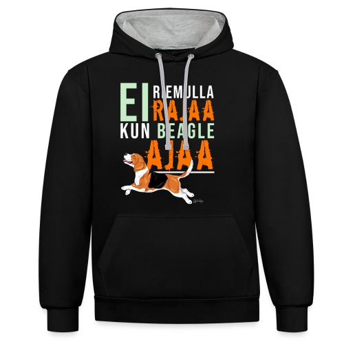Riemulla Rajaa Beagle - Kontrastihuppari
