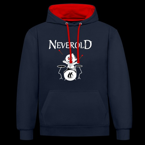 LOGO NEVEROLD - Sweat-shirt contraste