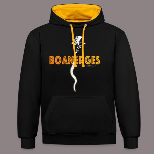 Boanerges (Donnersohn) - Kontrast-Hoodie