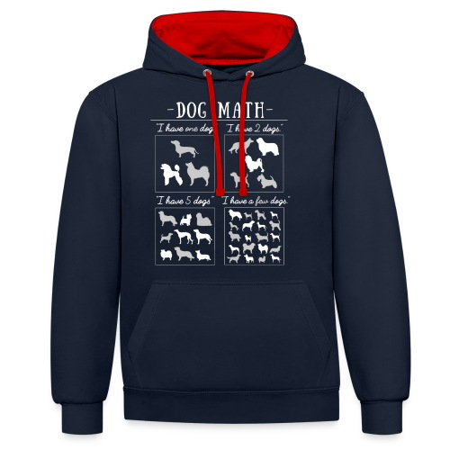 Dog Math II - Kontrastihuppari