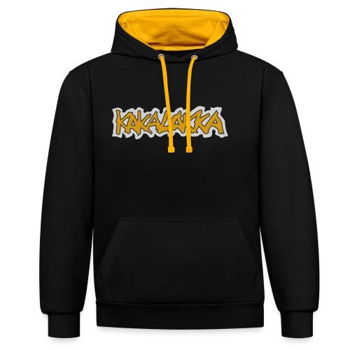 Kakalakka logo - Contrast Colour Hoodie