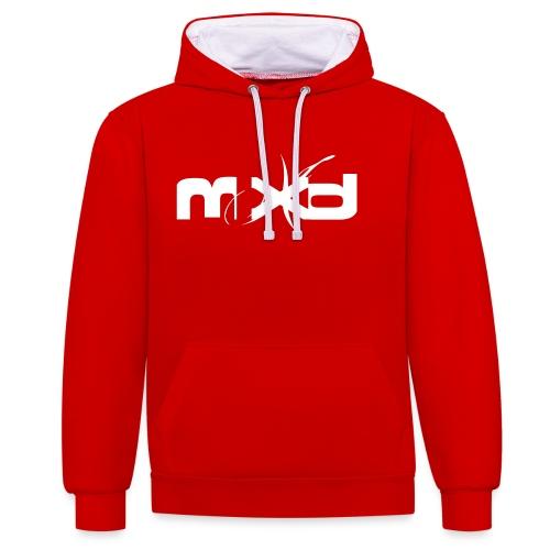MXD - Sweat-shirt contraste