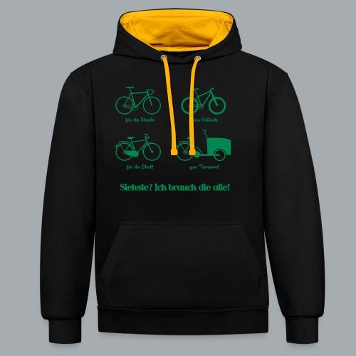 Bikepark - Kontrast-Hoodie