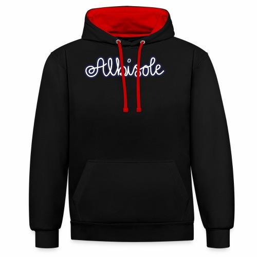 albisole - Kontrast-Hoodie
