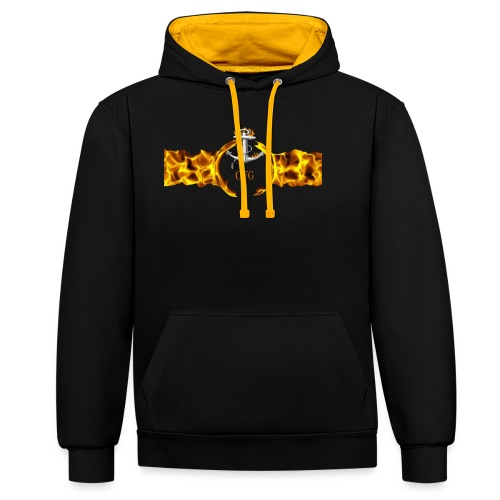 Merch Art - Contrast Colour Hoodie