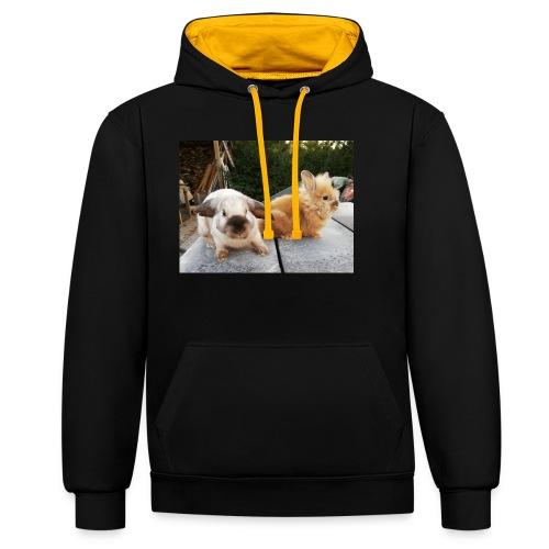 Nouche en Ninou - Contrast hoodie