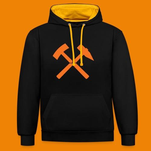 Schlägel & Eisen / Shop - Contrast hoodie