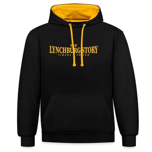Die Lynchburg Story - Kontrast-Hoodie