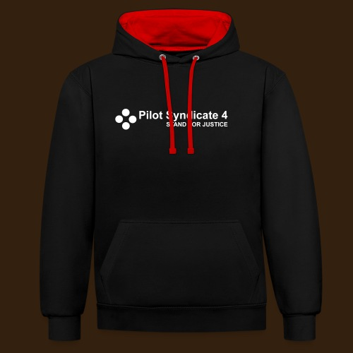Pilot Syndicate 4 - Contrast Colour Hoodie