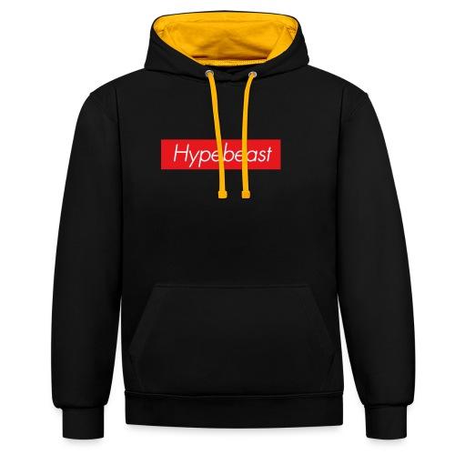 hypebeast - Contrast Colour Hoodie