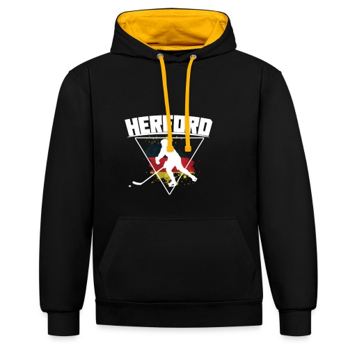 Herford Hockey germany - Kontrast-Hoodie