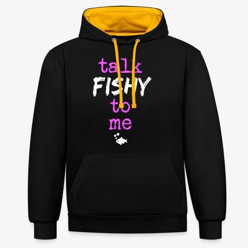 Talk Fishy To Me Pink - Kontrastihuppari