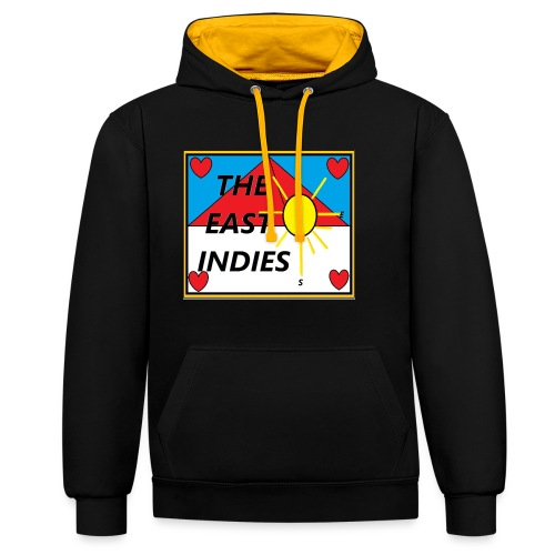 The East Indies - Contrast hoodie