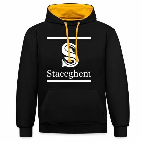 Staceghem - Contrast hoodie