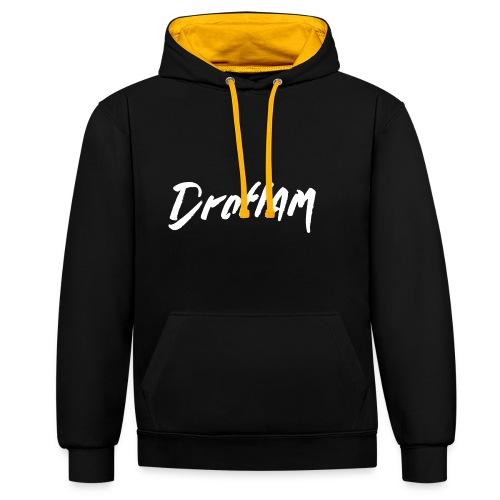 DROFLAM MERCH - Sweat-shirt contraste