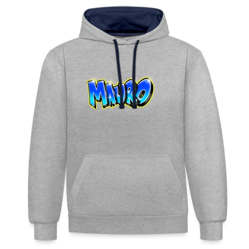 MAURO GRAFFITI NAME - Sweat-shirt contraste