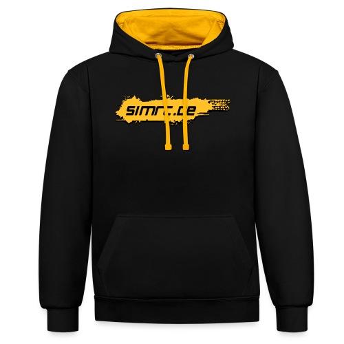SimRC.de Classic - Kontrast-Hoodie