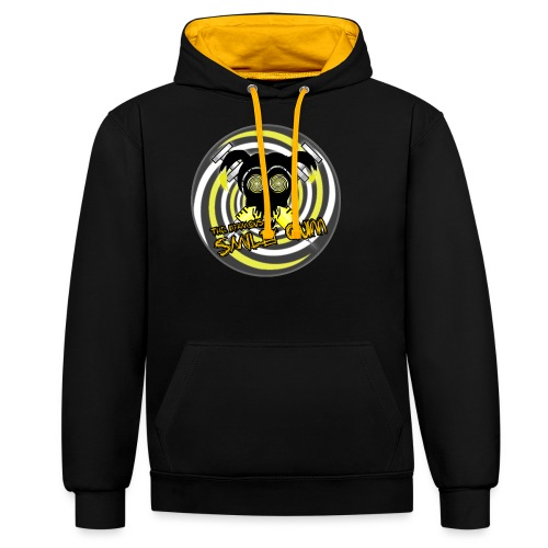 Swirly Quinn - Contrast Colour Hoodie