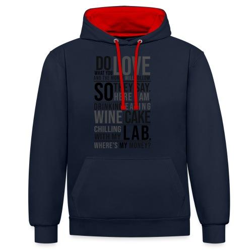 Wine, Cake, Lab III - Kontrastihuppari