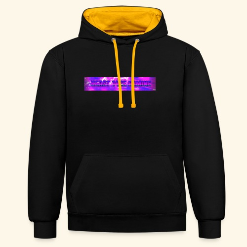 Banner - Contrast Colour Hoodie