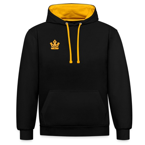 Minr Crown - Contrast Colour Hoodie