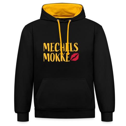 Mechels Mokke - Contrast hoodie