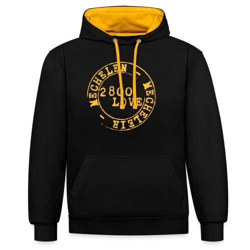 2800 Love - Contrast hoodie
