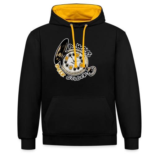 Always Beer O'clock - Contrast hoodie