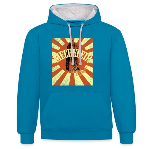 MecheleirOriginal5a - Contrast hoodie