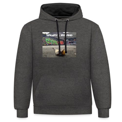 GALWAY IRELAND BARNA - Contrast Colour Hoodie