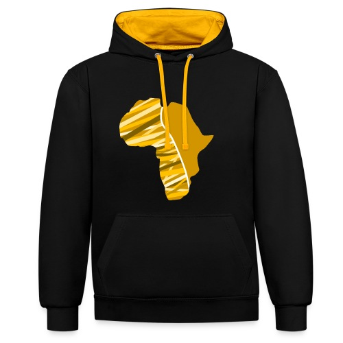 Buyela Africa Logo - Kontrast-Hoodie