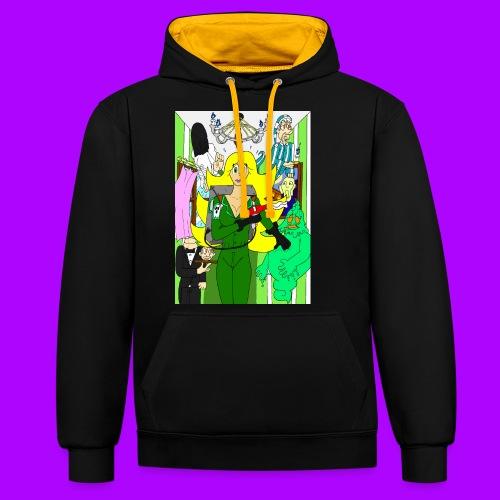 Miss Beauty Halloween 2019 - Contrast hoodie
