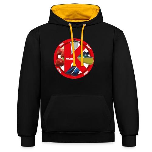 logoforeskil - Contrast Colour Hoodie
