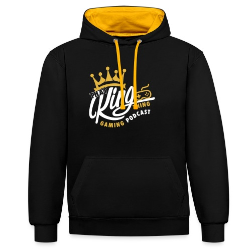 That King Thing Logo - Contrast Colour Hoodie