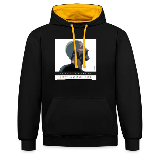 Barry Alexander King - Contrast Colour Hoodie