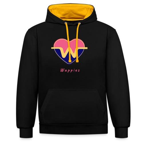 Wappiez - Laat je innerlijke wappie los! - Contrast hoodie