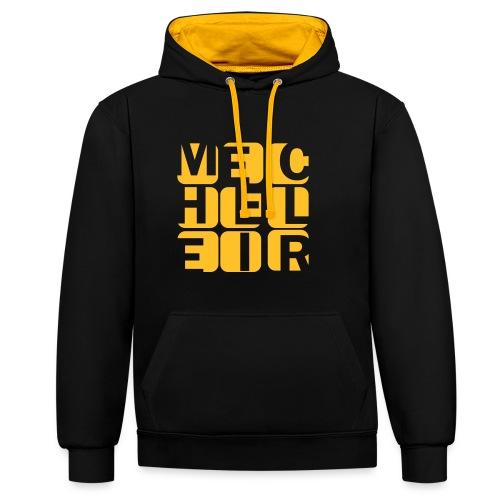 Mecheleir Cubes - Contrast hoodie