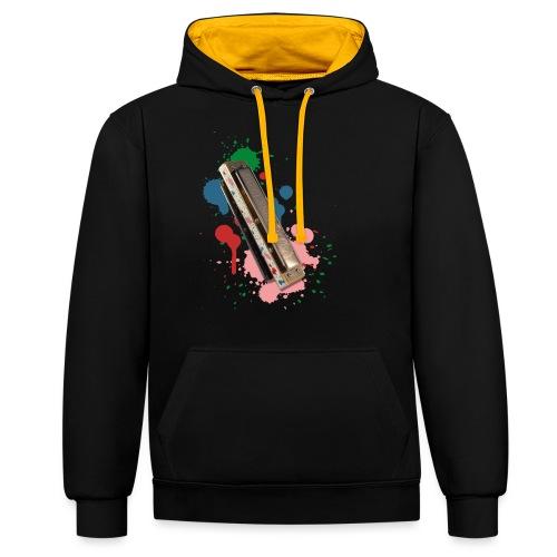 Colorful T-Shirt - Man - Contrast Colour Hoodie
