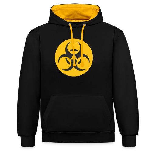 Biohazard - Contrast Colour Hoodie