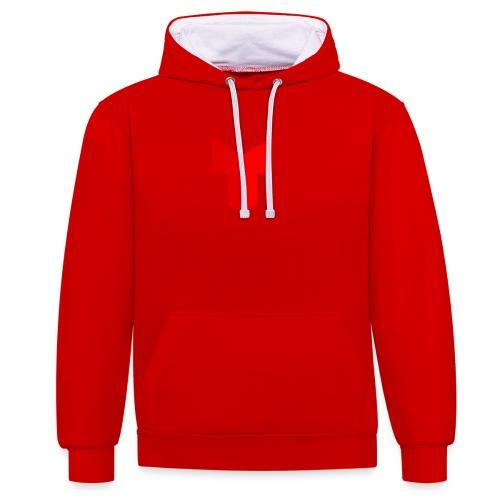 redcross-png - Contrast hoodie