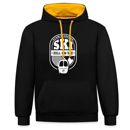 Ebleem III Zell am See - Contrast hoodie