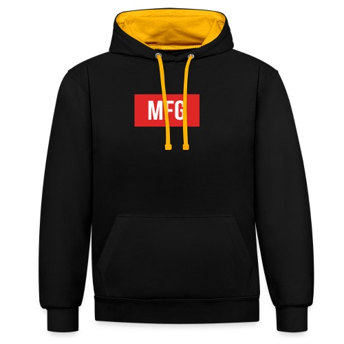 MFG on Youtube Logo - Contrast Colour Hoodie