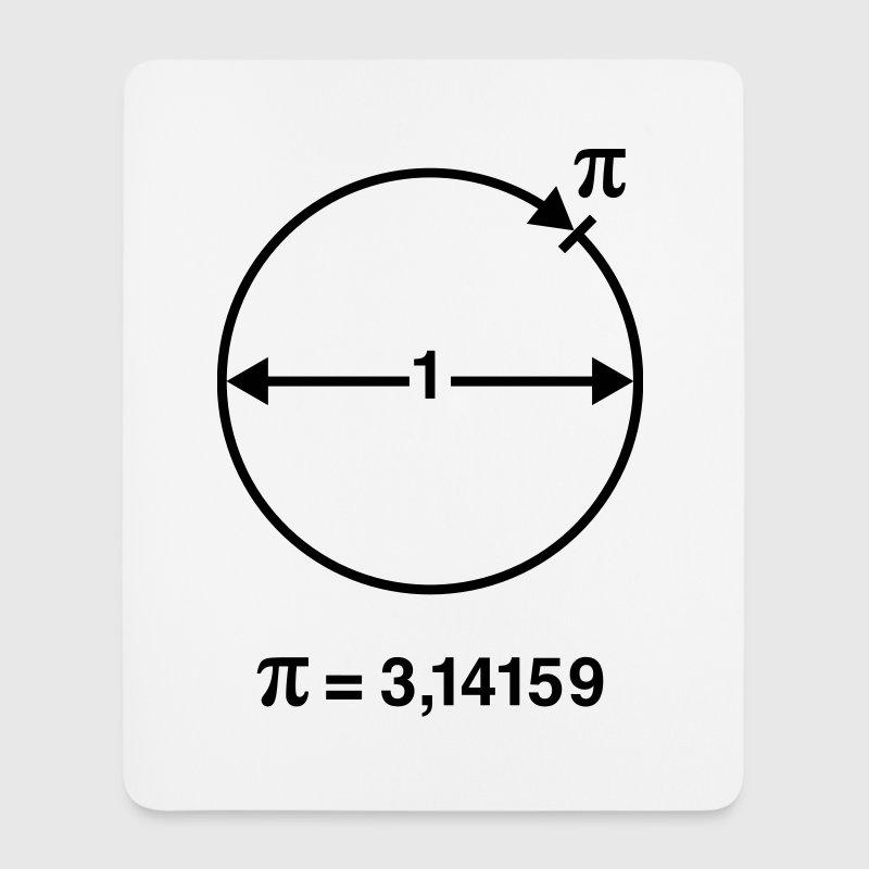 Número Pi / ∏ / π (Matemáticas / Geometría) - Alfombrilla de ratón (vertical)