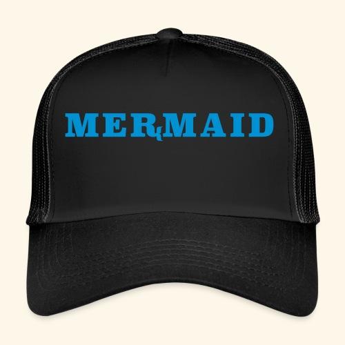 Mermaid logo - Trucker Cap