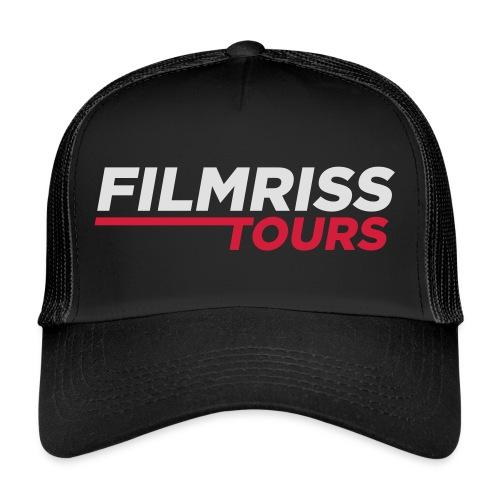 FILMRISS TOURS – lustiges Shirt für Partys, JGA - Trucker Cap