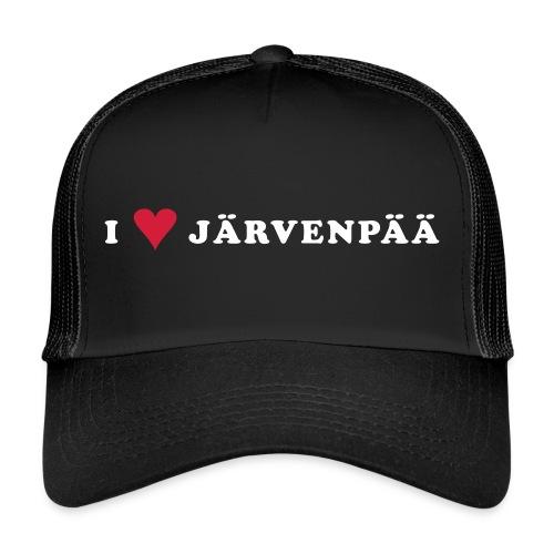 I LOVE JARVENPAA - Trucker Cap