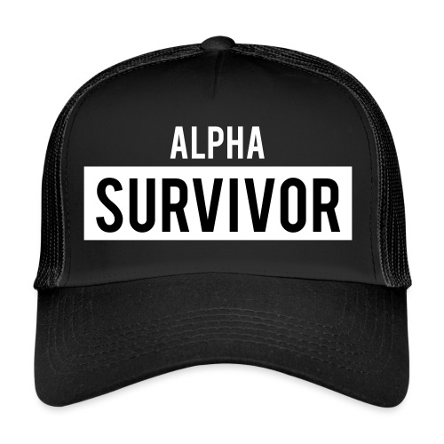 Alpha Survivor - Trucker Cap