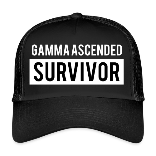 Gamma Ascended Survivor - Trucker Cap