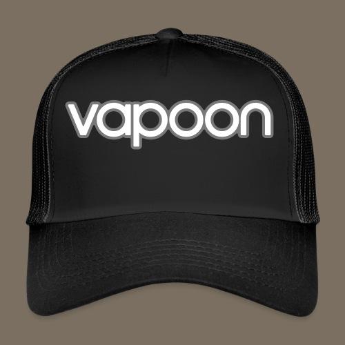 Vapoon Logo simpel 2 Farb - Trucker Cap